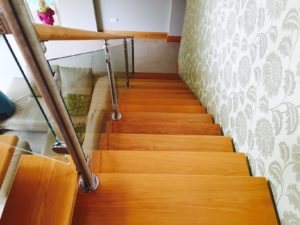 Bespoke stairs and landing